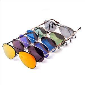 Accessories - Mirrored Aviator Sunglasses